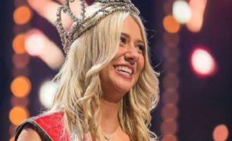 Мисс Бельгия-2020 оконфузилась в прямом эфире — смешное видео