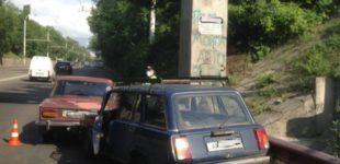 В Запорожье пьяный водитель устроил ДТП