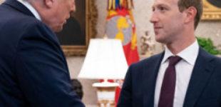 Трамп и Цукерберг обсудили ситуацию с соцсетями в США