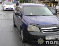 В Запорожье Chevrolet насмерть сбил женщину, переходившую дорогу на «красный»