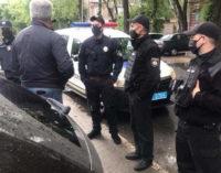 В Запорожье в офисе «Полка Победы» провели обыски