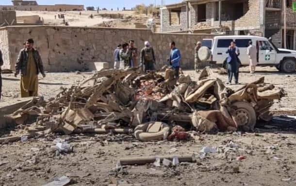 Автобус наехал на мину в Афганистане: девять жертв