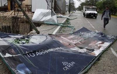 На США обрушился ураган Зета