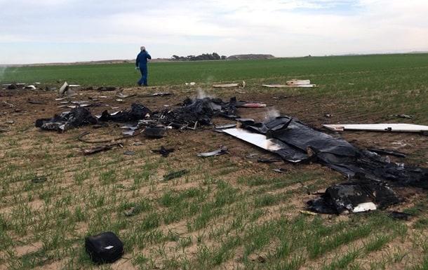В Израиле во время учений разбился самолет ВВС, две жертвы