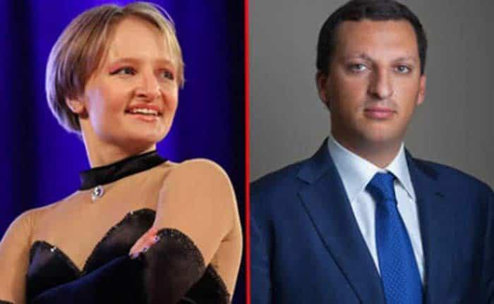 Екатерина Тихонова и Кирилл Шамалов