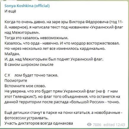 Кошкина о дворце Путина в Геленджике