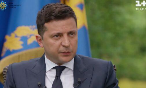 Зеленский: Если не договоримся с США, РФ и Европой, то судьбу Донбасса решит референдум