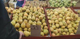 Груши, огурцы, шампиньоны: почем на одесском Привозе овощи и фрукты, — ФОТО