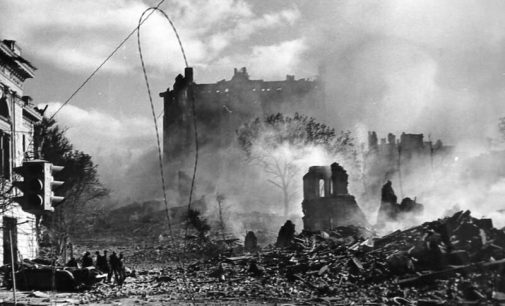Взрывы центральной улицы: кто и как уничтожил довоенный Крещатик, — ФОТО