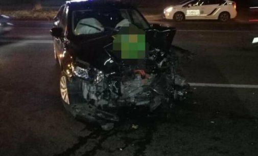 В Харькове произошло тройное ДТП: один из водителей в больнице, — ФОТО