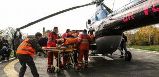 В Запорожье презентовали первый санитарный вертолет: как он выглядит, — ФОТОРЕПОРТАЖ
