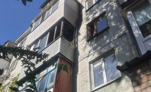 В Запорожье соседи спасли 5-летнего ребенка из загоревшейся квартиры