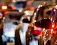 Пробки в Днепре: какие улицы сейчас стоят